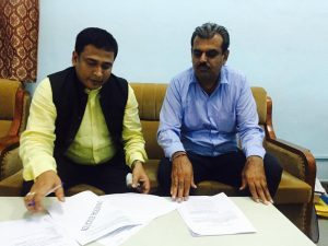 Signing Agreement with GEC, Bikaner