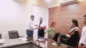 CSMSS Aurangabad felicitating our CEO