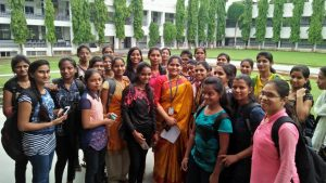 Our faculty Ms. Pallavi at MGM Nanded